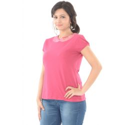 Rettrap Pink Sequin Top