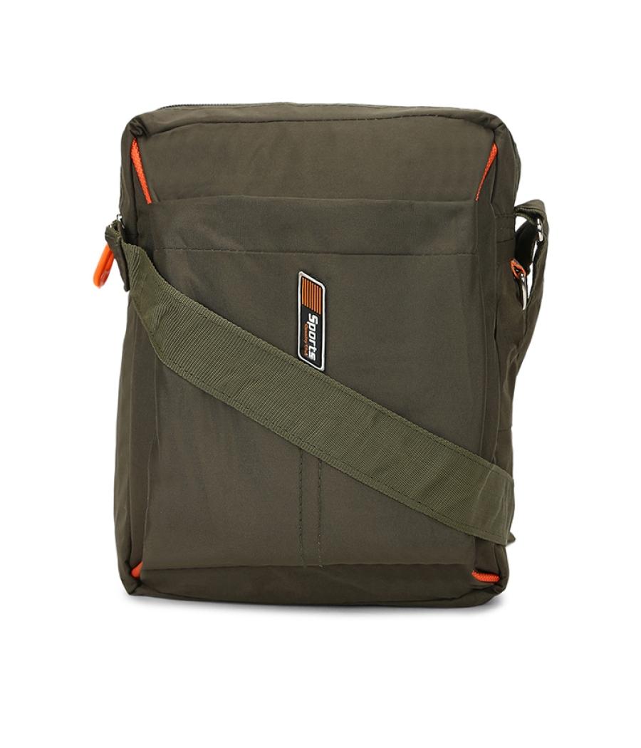 Envie Olive Colour Sling Bag for Students