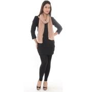 Light Brown Plain Pashmina Shawl