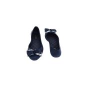 Estatos Perforated Leather Cut work Platform Heeled Peach/Beige/Cream bellerina/shoes
