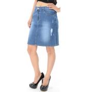 Denim Love Skirt