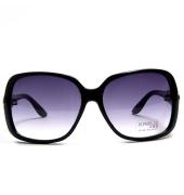 Karldi Purple Square Sunglasses With Black Frame