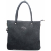 Buck Leather Dark Green Handbag