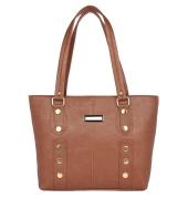 Aliado Faux    Leather Coffe Brown Coloured Zipper Closure Handbag