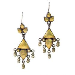Silver Antique Earring