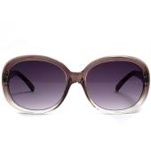 Parim Purple Oval Sunglasses With BrownFrame