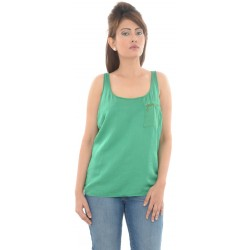 Zara TRF Plain Zipper Pocket Detailing Green Top