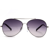 Parim Purple Aviators With Silver Frame