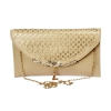 Envie Faux Leather Cream Colour Solid Sling Bag