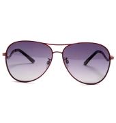 Parim Purple Aviators With Red Frame