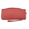 Envie Peach Faux Leather  cosmetic/utility Bag/pouch