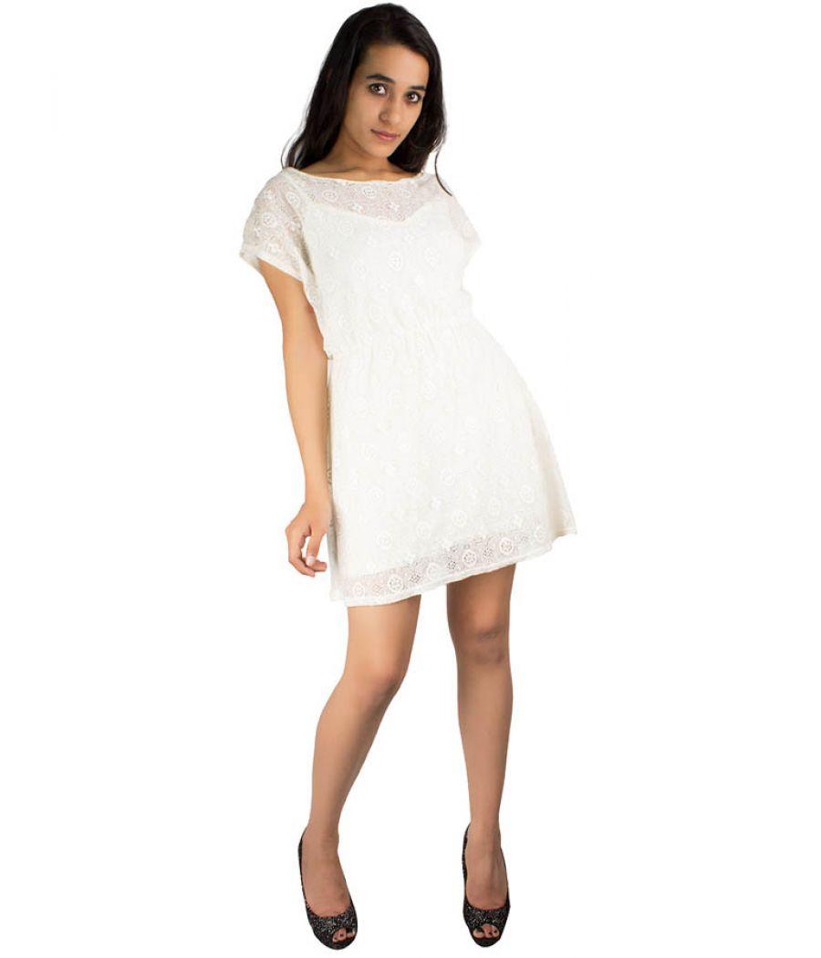 Chelsea Girl White Dress