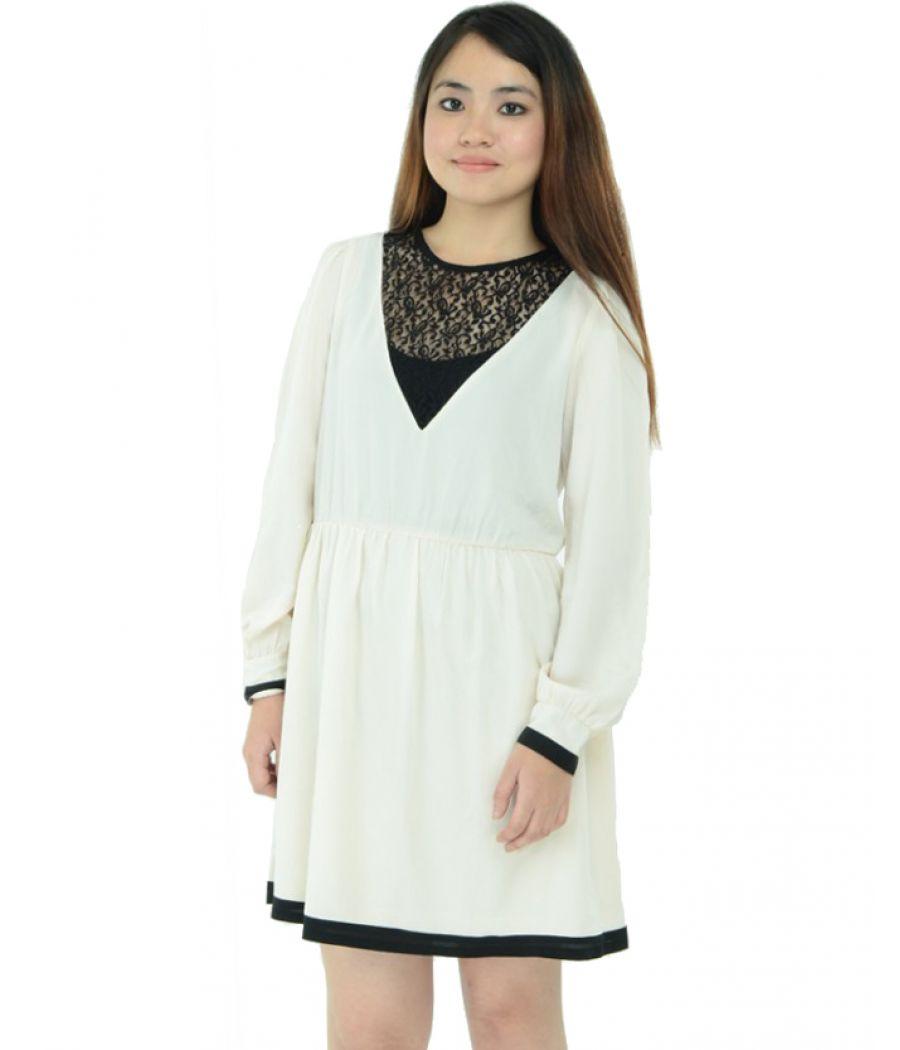 Asos Pristine White Dress