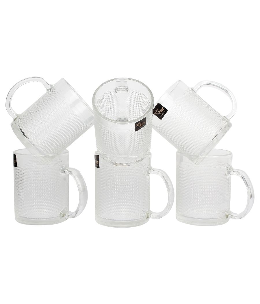 Multi Purpose Unbreakable Drinking Glass Set of Six Pieces