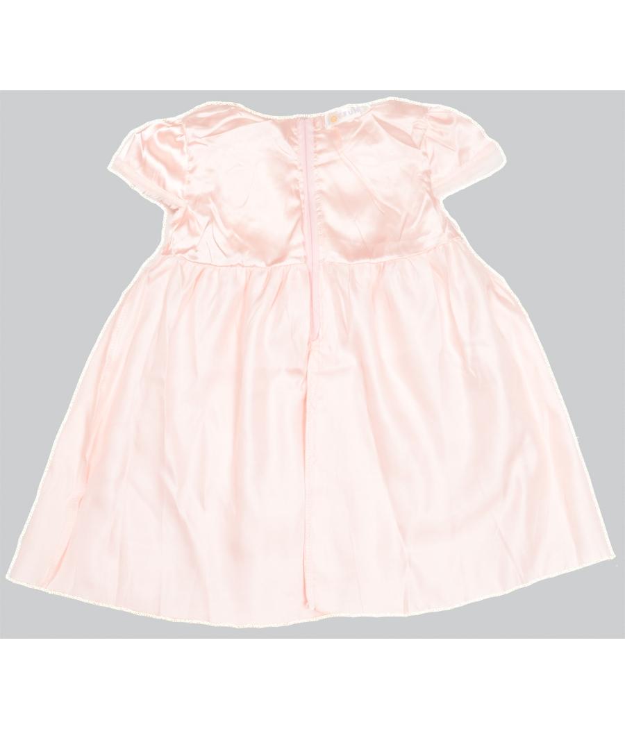 Joy n Fun Light Pink party wear Flared Frock for Girl