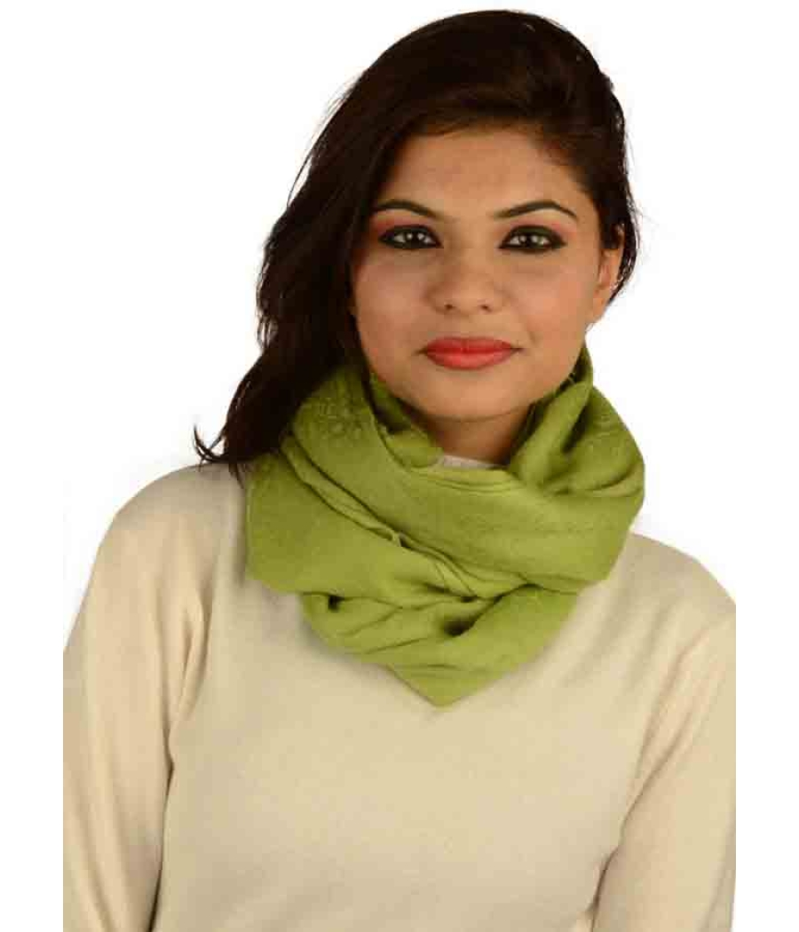 Lime Green Pashmina Stole