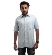 Park Avenue Cotton Plain Striped Half Sleeved Below Waist Formal Shirt