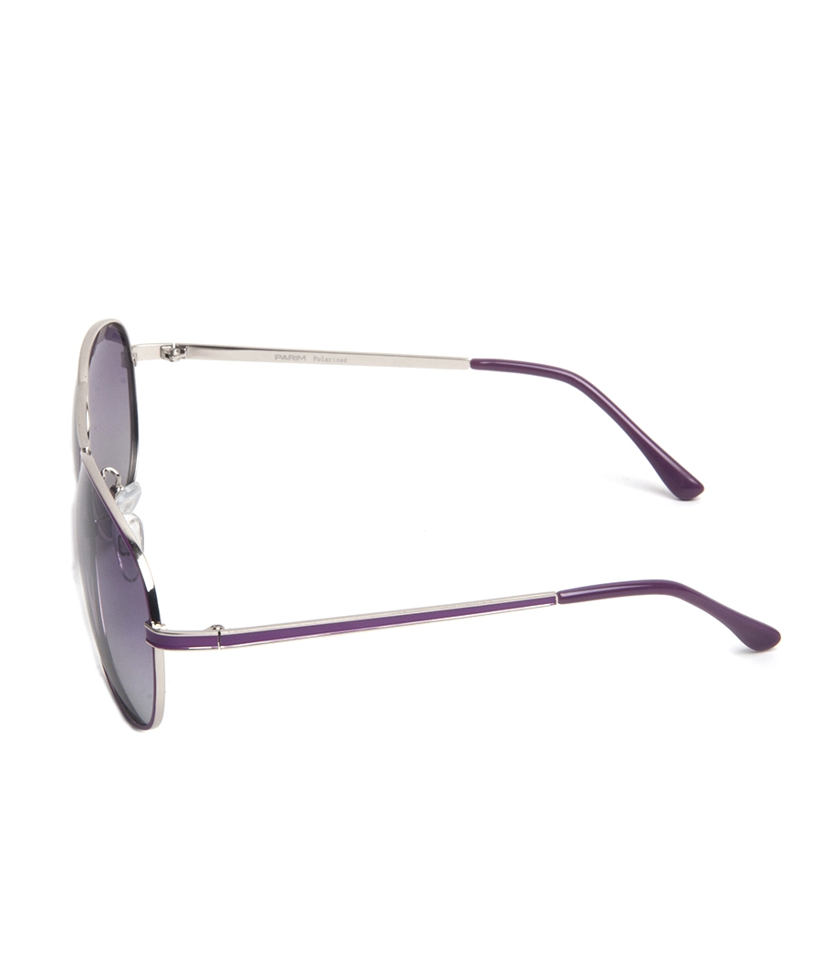 Parim Purple Cockpit Sunglasses