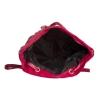 Aliado Velvet Solid Red  Backpack