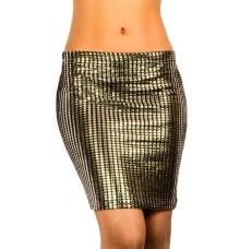 Asos Black Studded Skirt