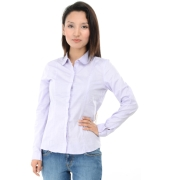 Allen Solly Light Purple Shirt