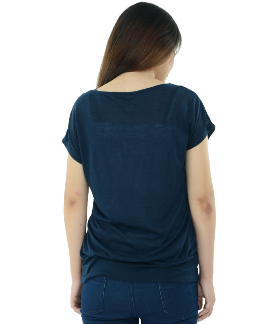 Naive Navy Blue Top