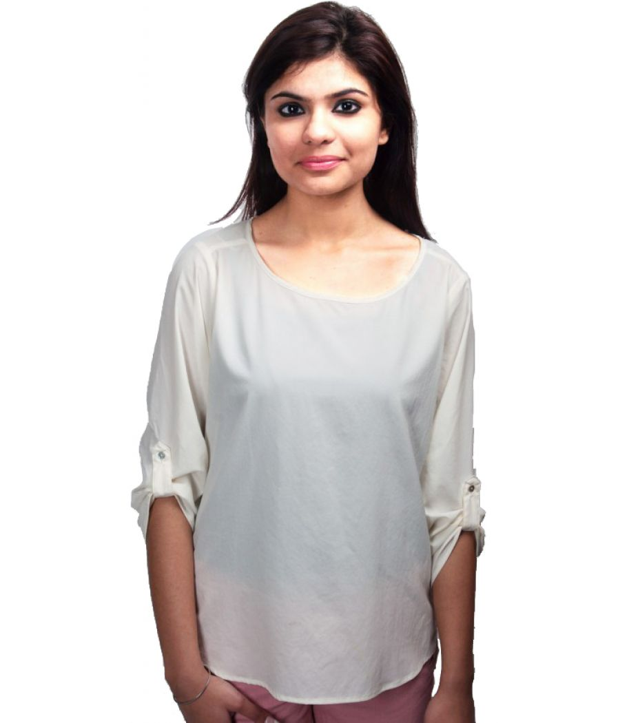 Zara Off White Top