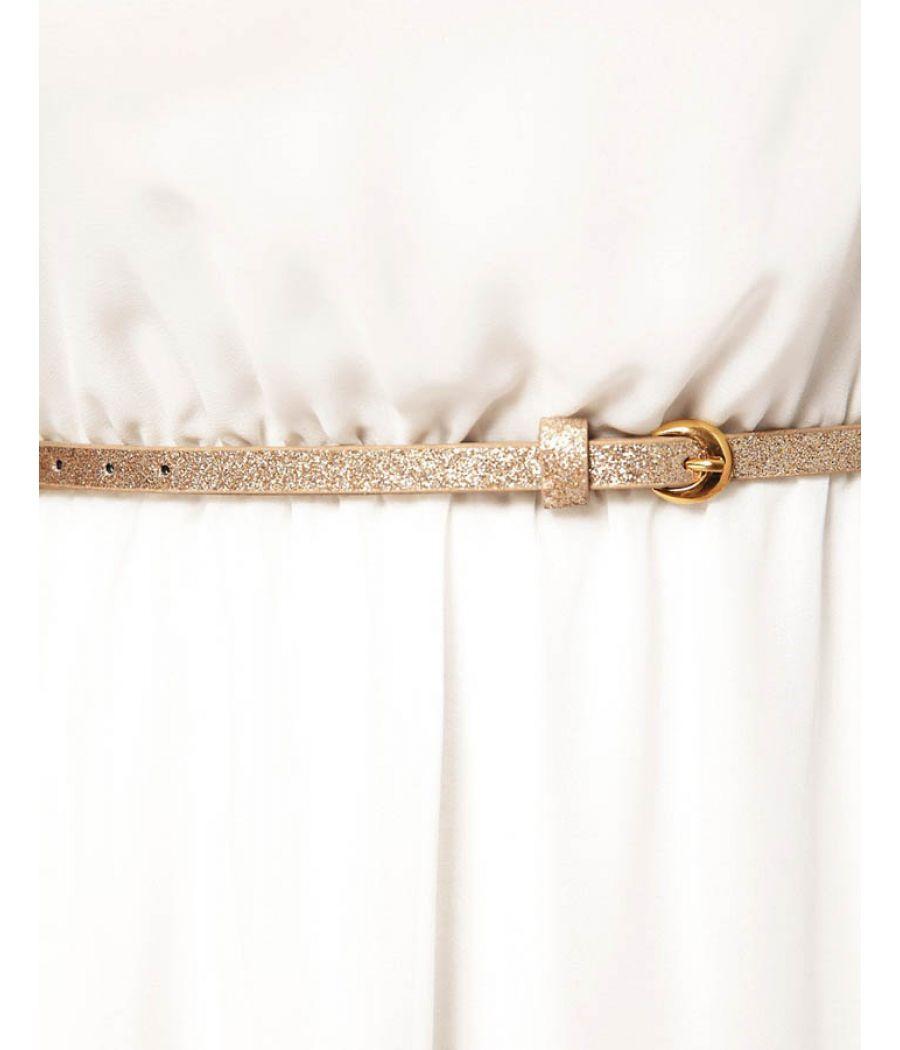 Asos White High Low Dress