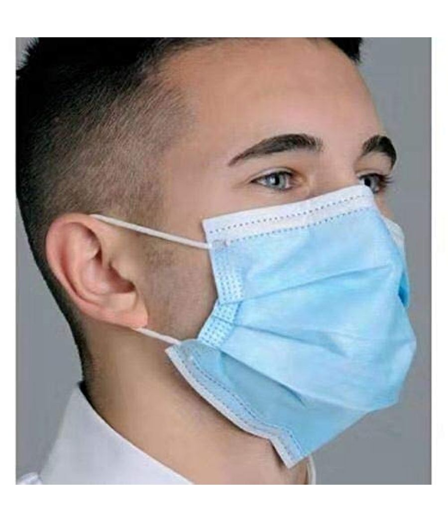 Mask-3ply Disposable Mouth Masks 10 pcs Nose Mask Dust Mask Pollution Mask (Color May Vary) Material: Eco-Friendly Cotton, Breathable and absorbent