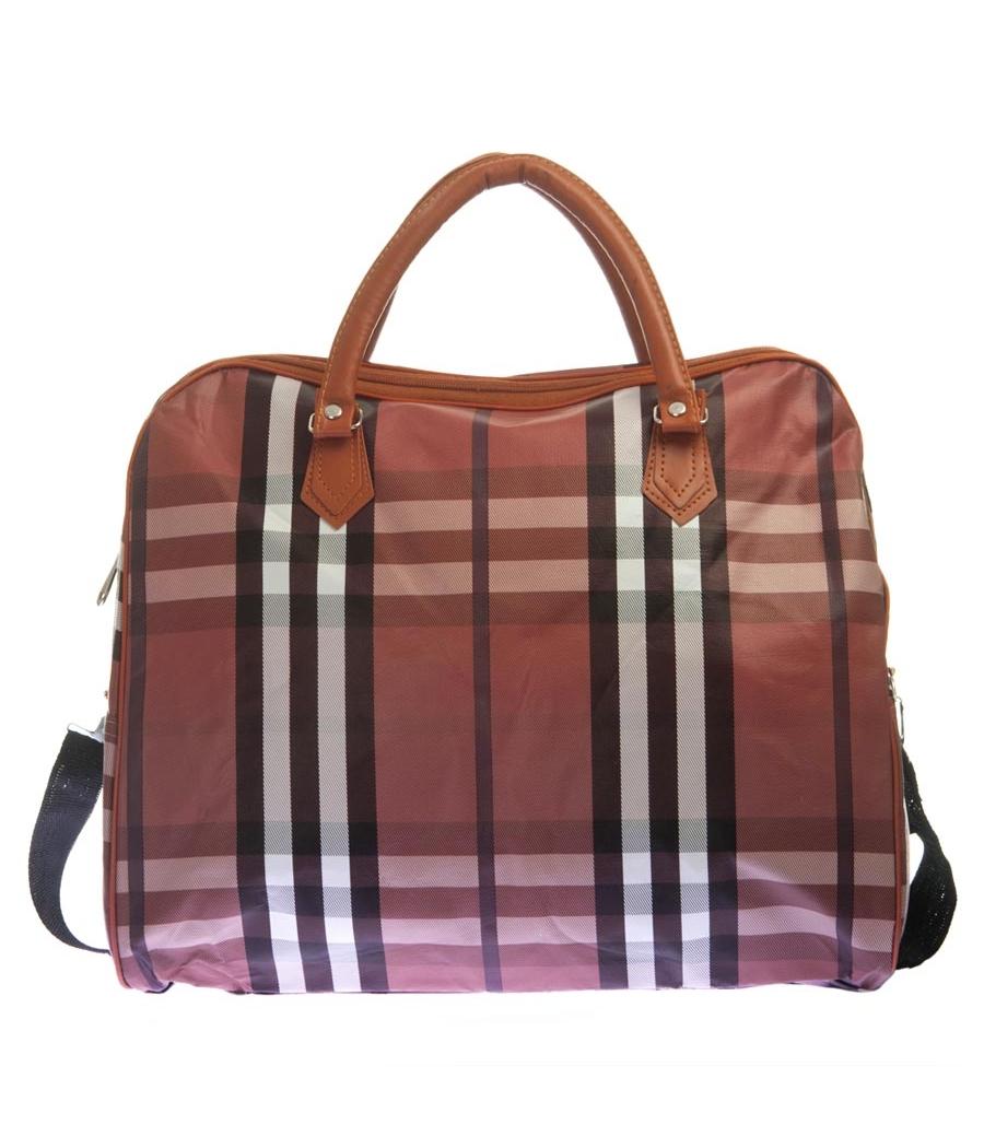Aliado Faux Leather Printed Peach & Multi Zipper Closure Handbag