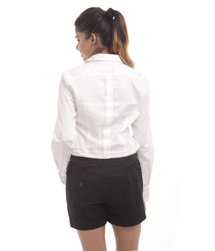 Van Heusen Cotton White Solid Button Closure Formal Shirt