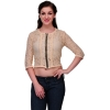 Light Brown Lace Crop Top
