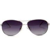 Parim Purple Aviators with White Frame