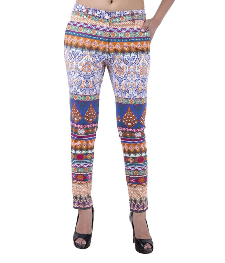 Estance Traditional Print Multi Trousers