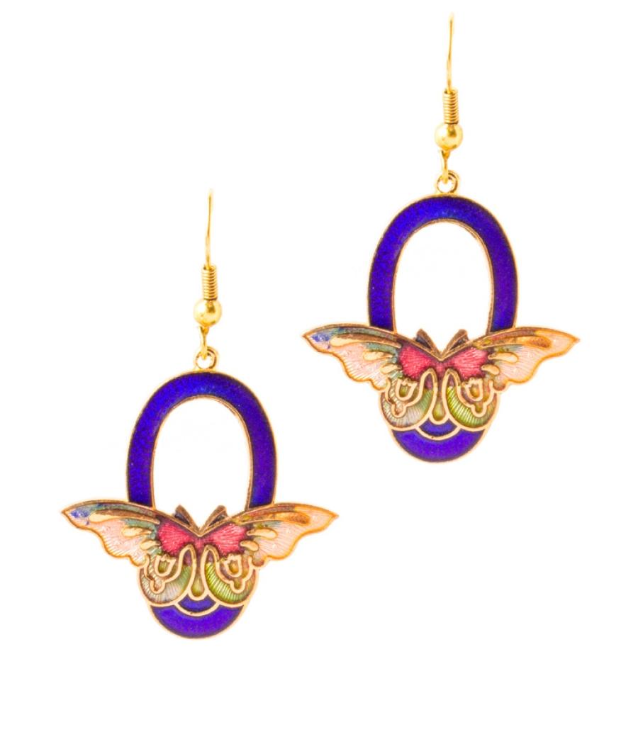 Fashion Butterfly Earrings