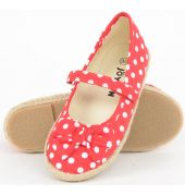 Joy n Fun Red Polka dots bellies for Girl