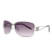 Parim Purple Square Sunglasses