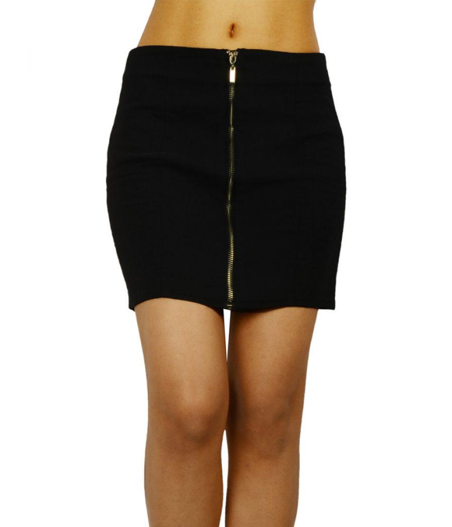 HM Navy Blue Mini Skirt