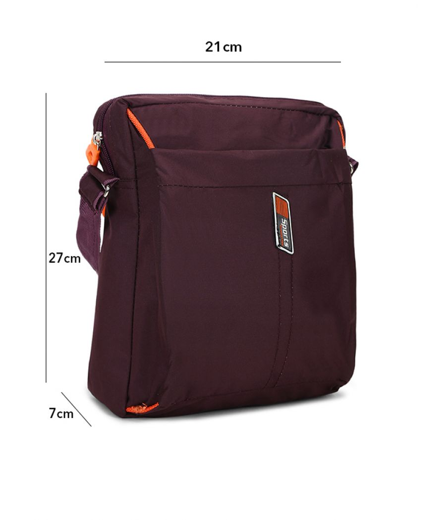 Envie Magenta Colour Sling Bag for Students