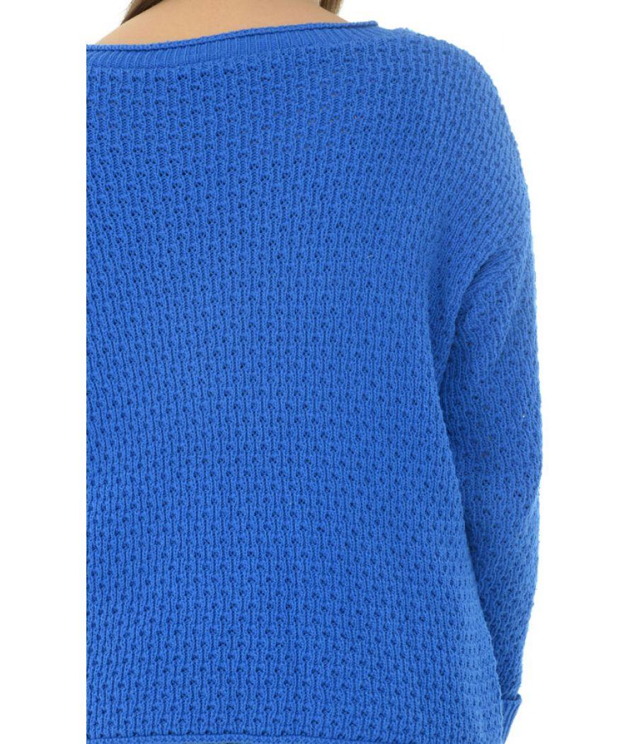 Asos Blue Cable Knit Jumper