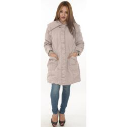 Wallis Long Cream Coat