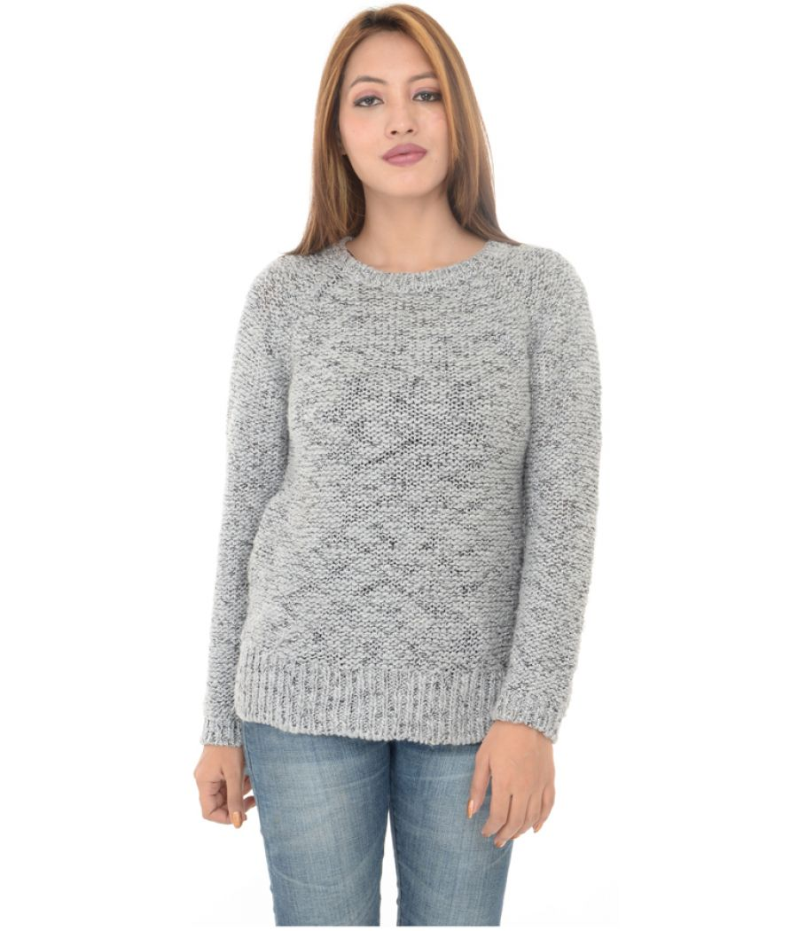 New Look Grey Knitted Sweater