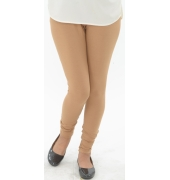Beige Leggings - 800 GSM
