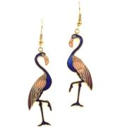 Meenakari Bird Earrings