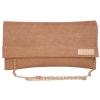 Envie Faux Leather Brown  Magnetic Snap Closure Sling Bag