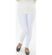 White Leggings - 800 GSM