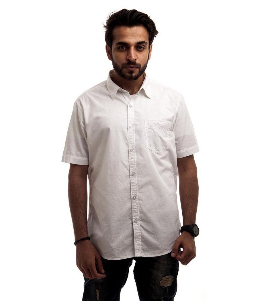 Etashee Certified Cotton Plain Half Sleeved Regular Fit Formal Shirt