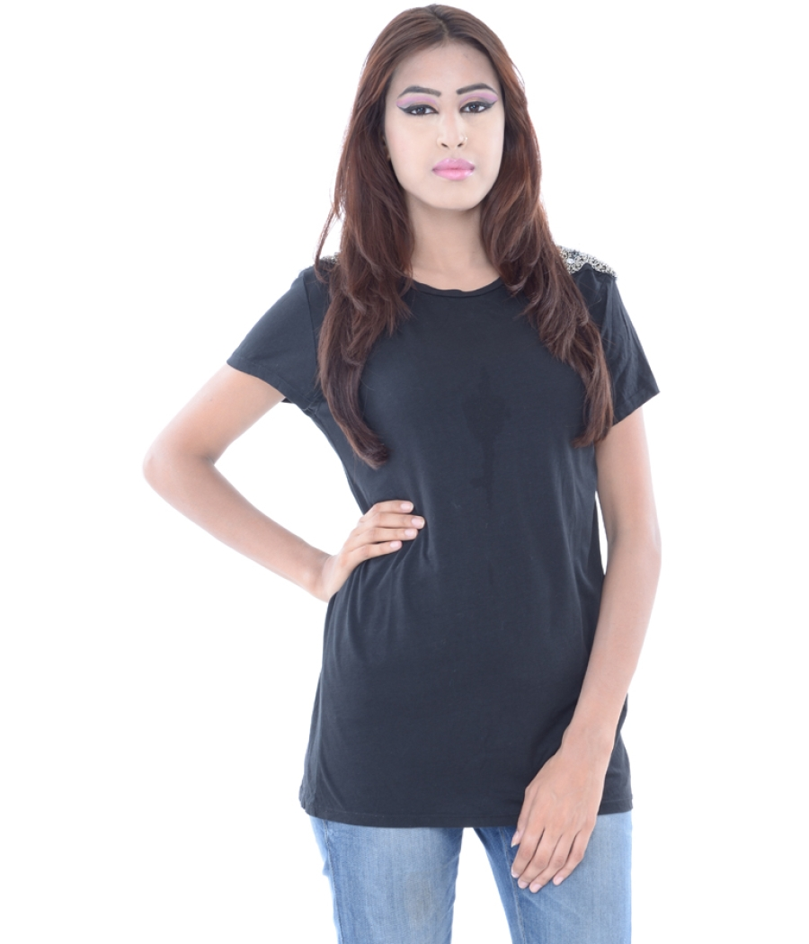 Zara Basic Black Top