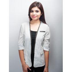 Max Mara White Jacket
