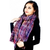 Multi Colour Acrylic Stole